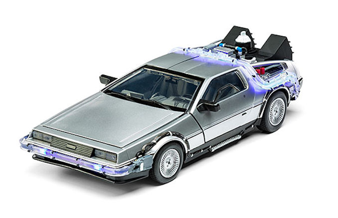 Back To The Future 2 Hover Delorean Electronic Vehicle Delorean Back To The Future Vehicles