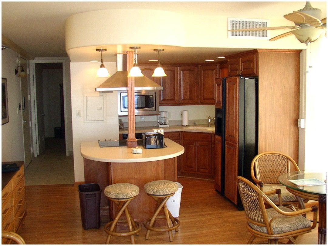 Another kitchen with a defined space.