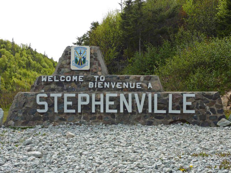 Camping near Stephenville - Newfoundland