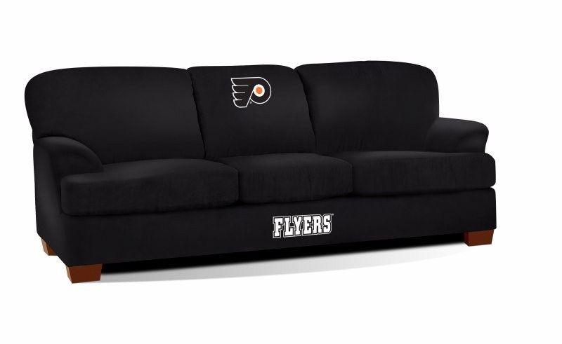 Sensational Philadelphia Flyers Nhl First Team Sofa Couch Furniture Creativecarmelina Interior Chair Design Creativecarmelinacom