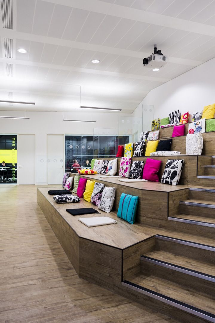 emo and the real adventure offices by the interiors group bristol office design amazing