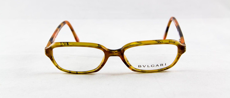 New old stock BVLGARI eyeglass frame Plastic Rectangular Nice by ...