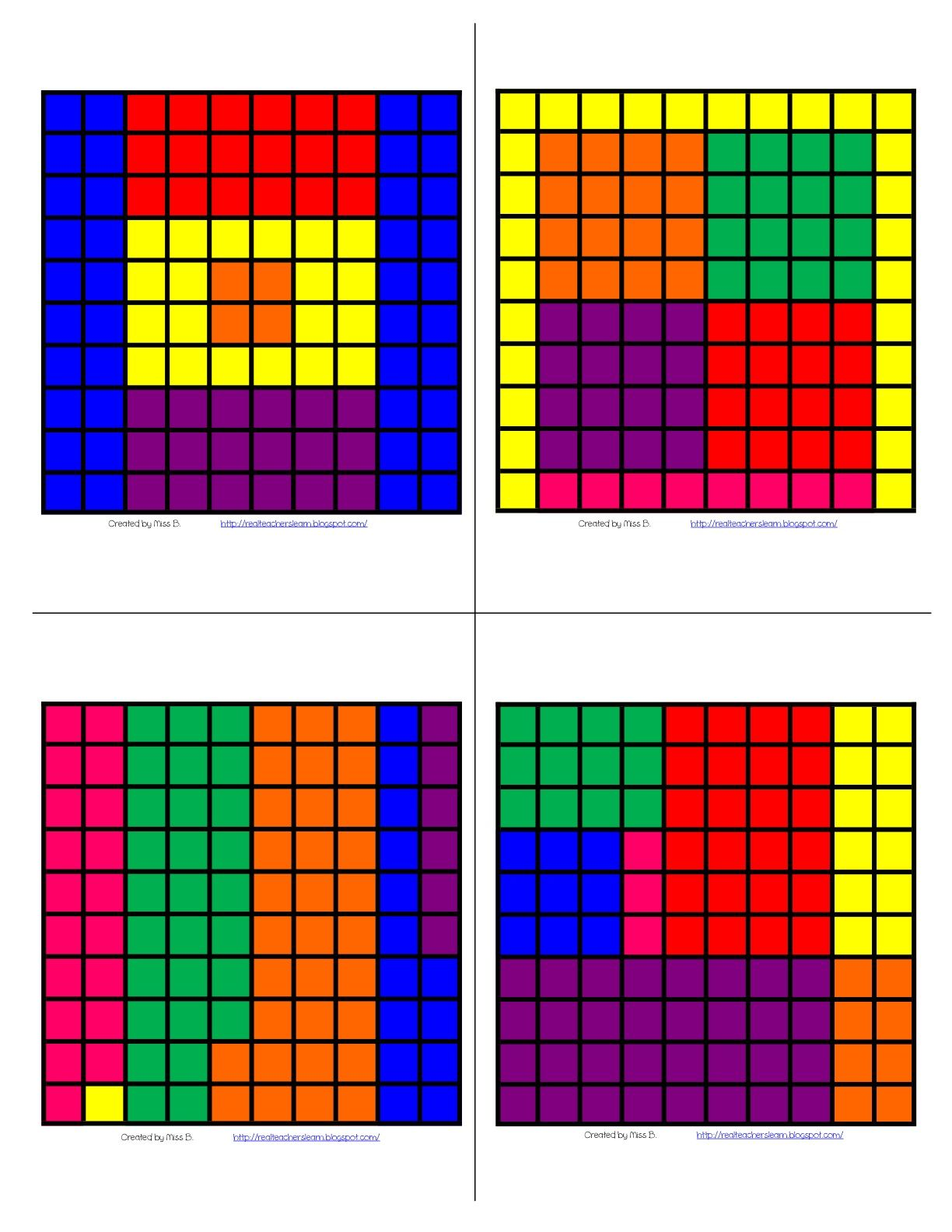 Real Teachers Learn Fraction Amp Decimals Hundreds Grid