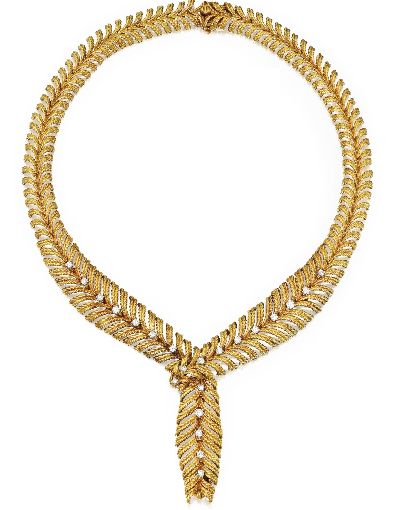 jewelry xo karat lyst metallic gold chains jennifer necklace meyer