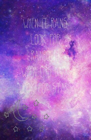 When it rains look for rainbowswhen its dark look for stars when it rains look for rainbowswhen its dark look for stars thecheapjerseys Gallery