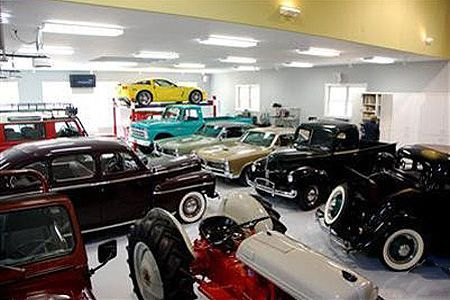 First Person Refinancing To Save 51 000 And Pay Off Our Mortgage Early With Images Classic Car Garage Car Showroom Interior Garage Makeover