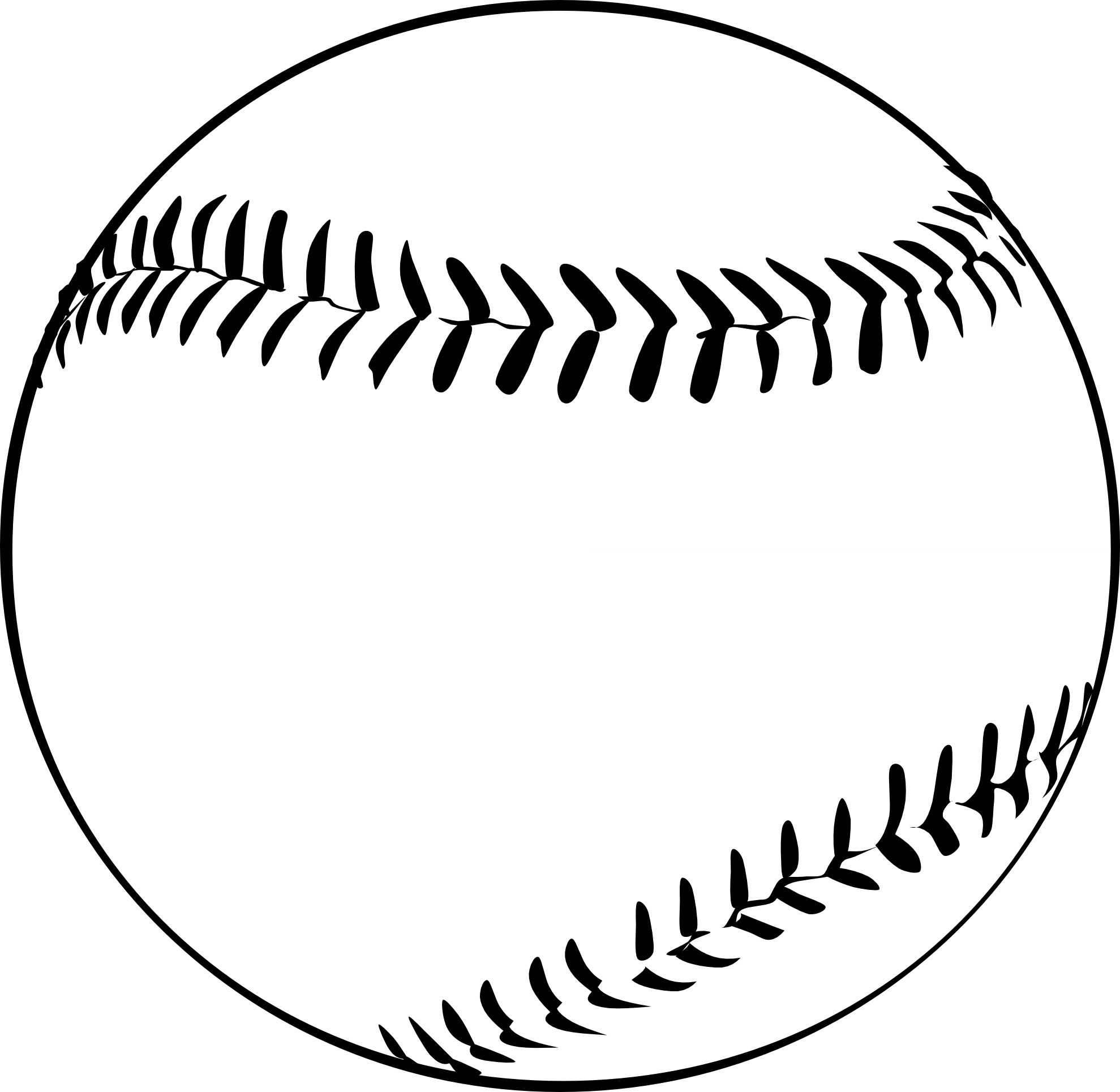 black and white vector art Google Search Baseball