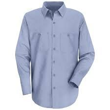 Used 100 Cotton Standard Work Shirt Long Sleeve Work Shirts Shirts Long Sleeve Shirts