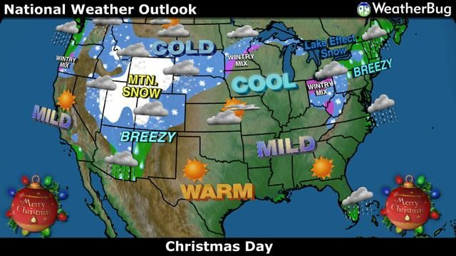 Embedded image permalink The Weather Map for Christmas Day of 2014 ...