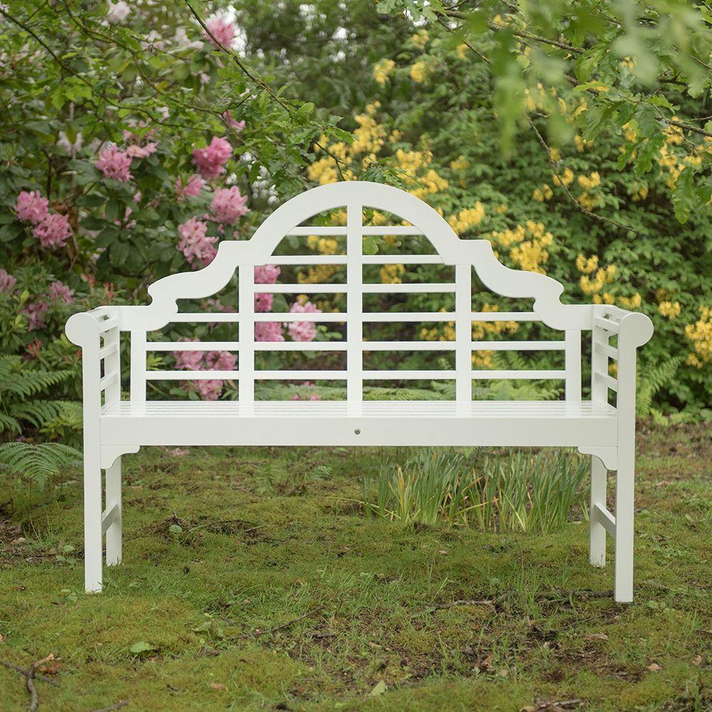 Lutyens Style Bench White Lutyens Bench Bench