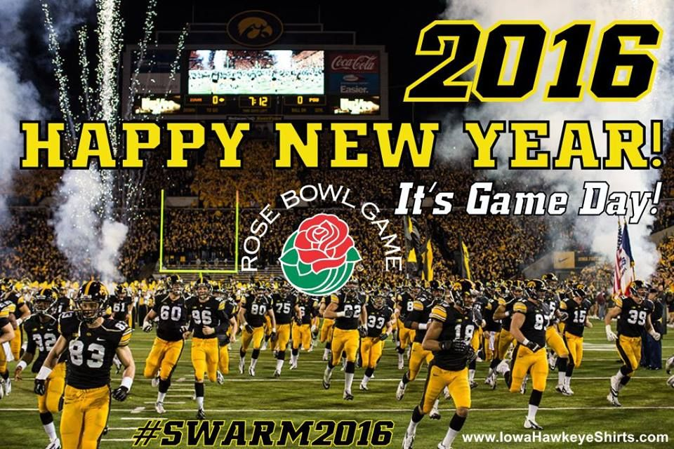 1/1/16 Happy New Year Hawkeye Fans! Beat Stanford in the