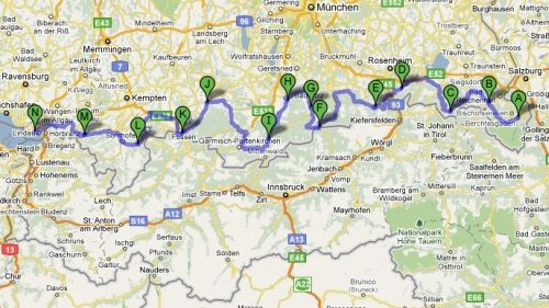 Map Of Germany Google Maps.Ask Lh Can I Import Google Maps Data Into My Gps Lifehacker