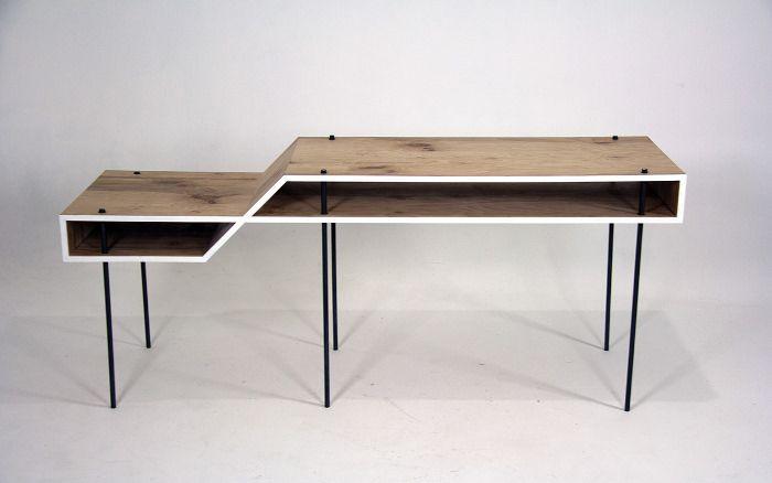 Bureau Minimaliste Fig 8 Desk Par Steven Berkas Bureaus And Desks