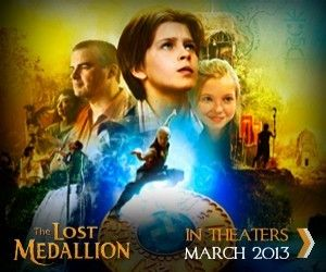 The Lost Medallion. There Is Grace - this is the message in this movie that I cannot wait to see :)
