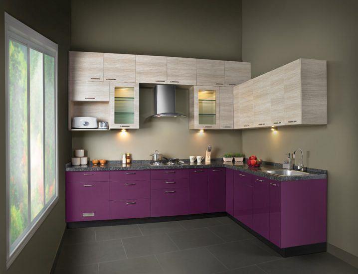 Contemporary Lshape Modular Kitchen Designs  Beautiful Kitchen Unique Designs Of Modular Kitchen Photos Inspiration Design