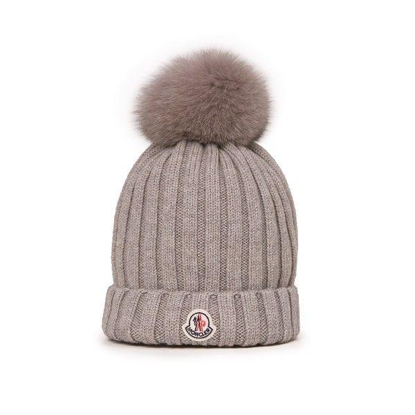 moncler womens bobble hat