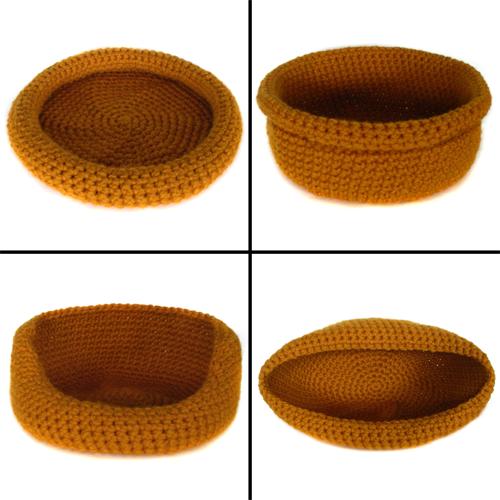 Crochet Cat Bed Pattern Free Crochet Pattern Super Versatile