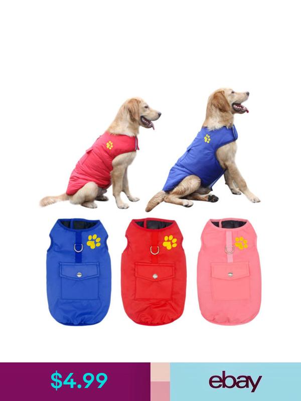 Pet Jackets Ebay Pet Supplies Large Dog Clothes Waterproof