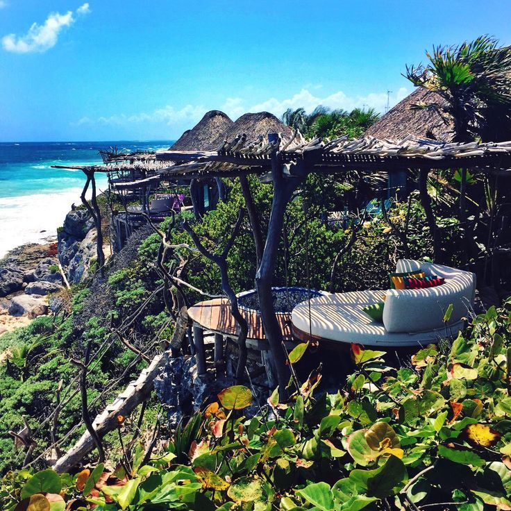 The Crazy Beautiful I Saw From Beach In Tulum Next Time Hotel