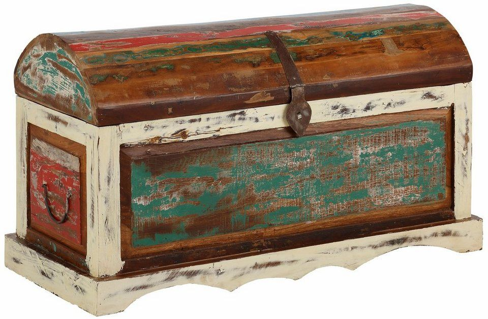Couchtisch im Truhen-Design Gavi Colonial and Interiors - edelstahl küchenmöbel gebraucht