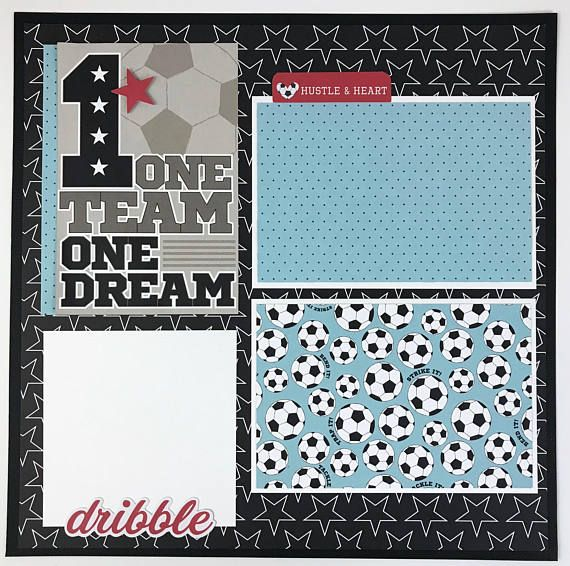 12x12 soccer scrapbook page kit or premade pre cut with instructions 12x12 soccer scrapbook page kit or premade pre cut with instructions 6 pages team coach soccer sports this is a pre cut do it yourself scrapbook ki solutioingenieria Image collections