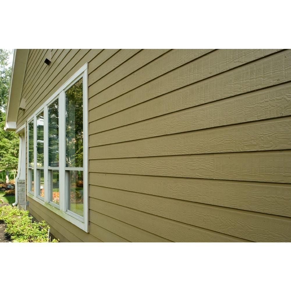 James Hardie Hardieplank Hz5 12 In X 144 In Fiber Cement Cedarmill Lap Siding Primed 6000016 The Home Depot Hardie Plank Lap Siding Fiber Cement