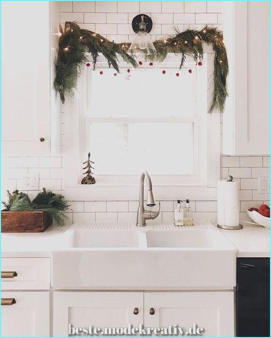 30 Nifty Christmas Kitchen Décor Ideen, die Ihre Küche verändern würden » Beste.modekreativ.de #weihnachtlicheszuhause