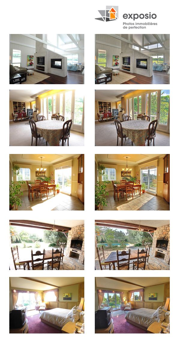 solution photo HDR fourni par Avéo home staging