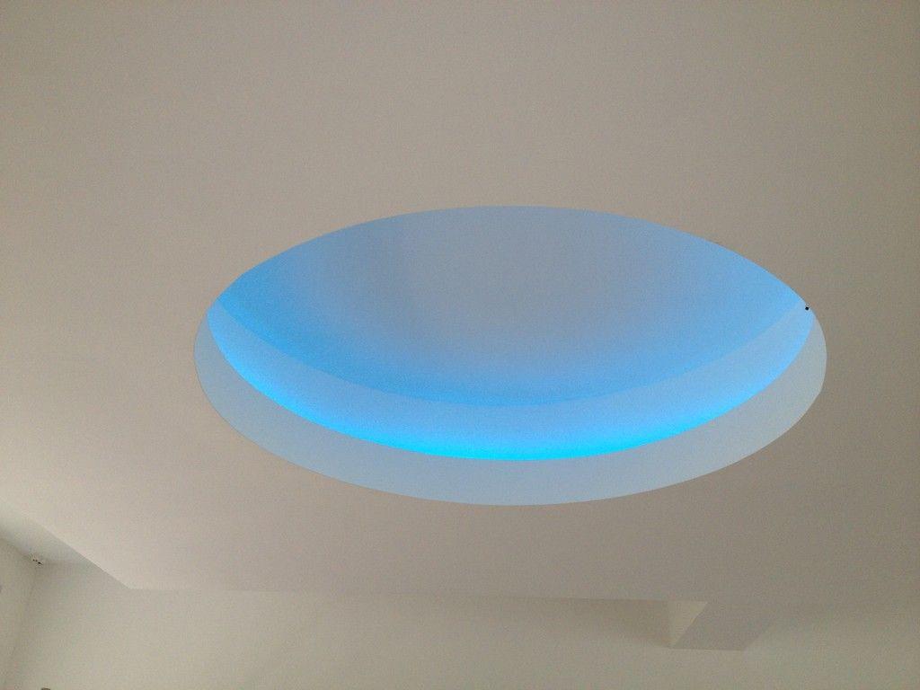 Good indirekte Beleuchtung vom Trockenbauer