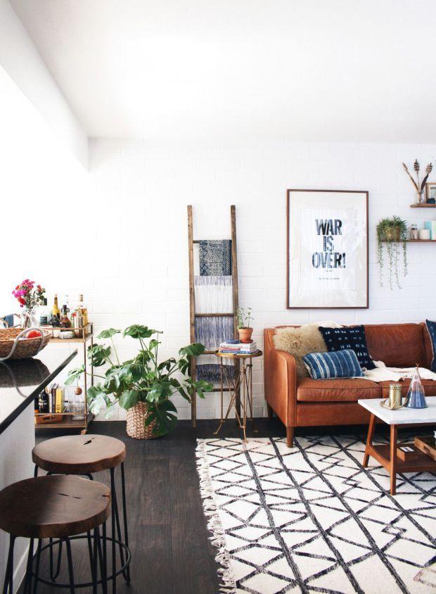 5 modèles de tapis à avoir absolument u003e LIVING ROOM u003c Pinterest - cuisine sejour meme piece