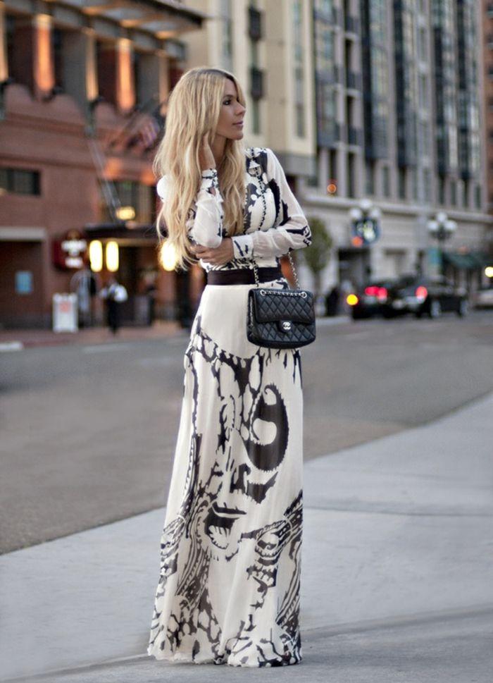 7b3238a8327 La robe longue d été - 65 belles variantes - Archzine.fr