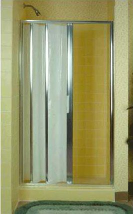 Folding Accordion Tub And Shower Doors With Images Shower
