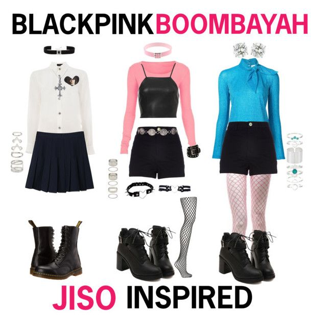 plain blackpink inspired outfits 2