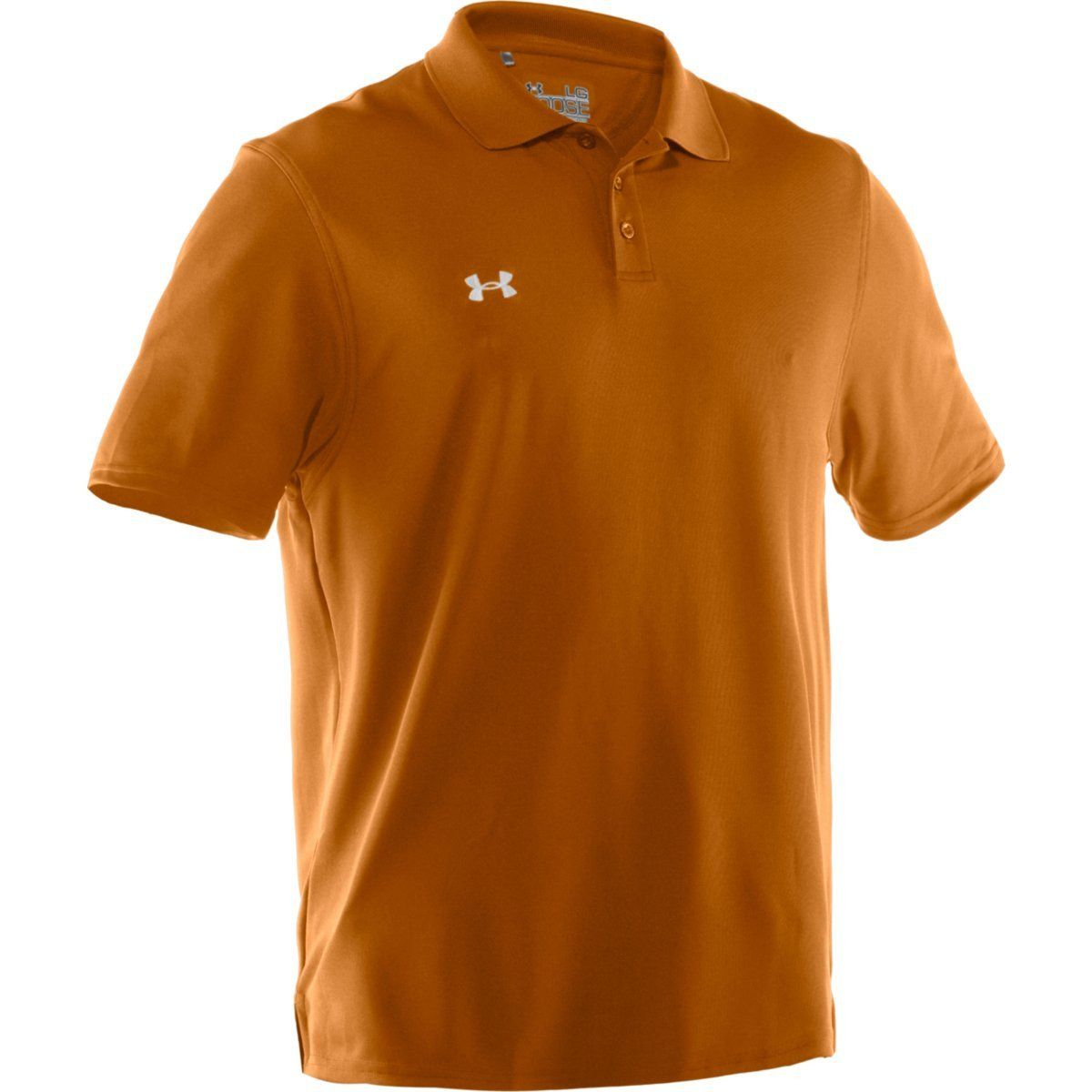 Under Armour Mens Polo Orange Chad Crowley Productions