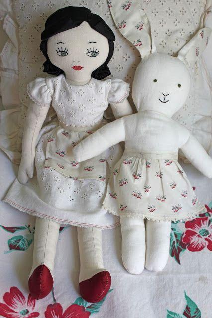 darling handmade bunny