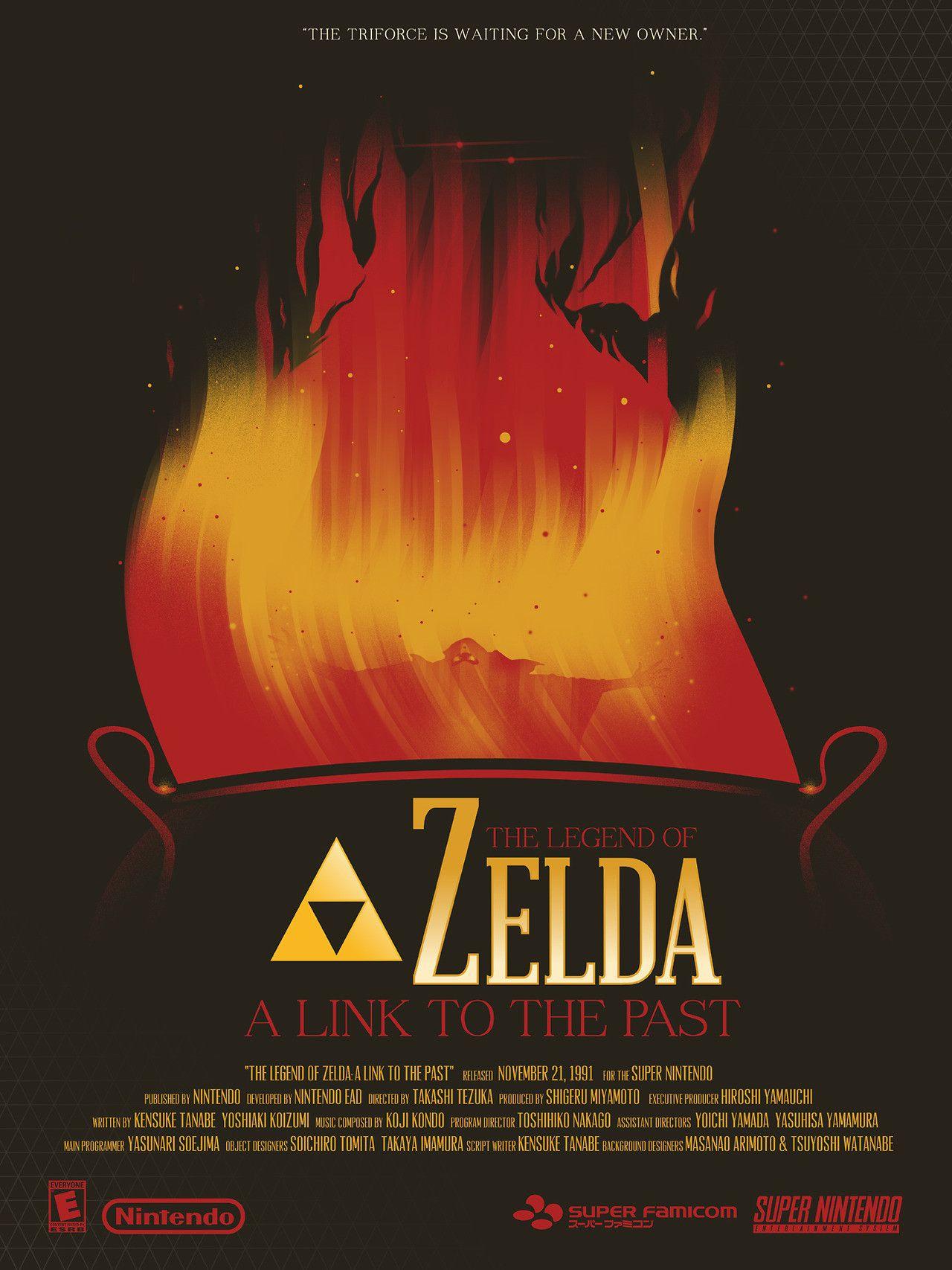 Fantastic Legend of Zelda posters created by Marinko Milosevski - Imgur