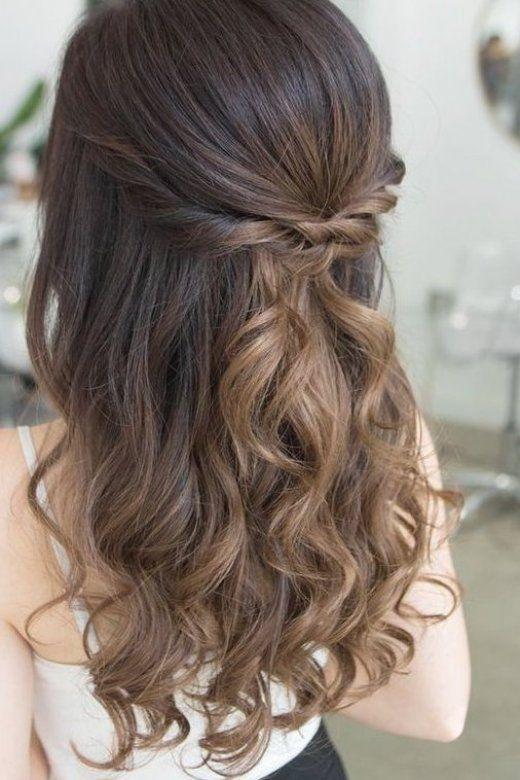 einfache diy prom frisuren f r mittleres haar - haare sch