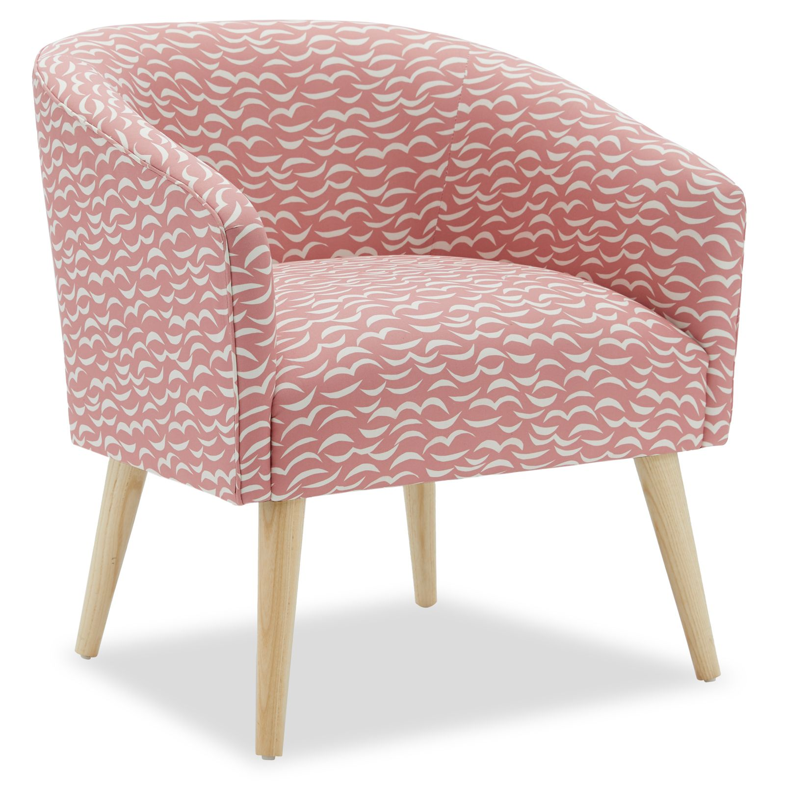 Miraculous Crescent Moon Barrel Accent Chair By Drew Barrymore Flower Uwap Interior Chair Design Uwaporg