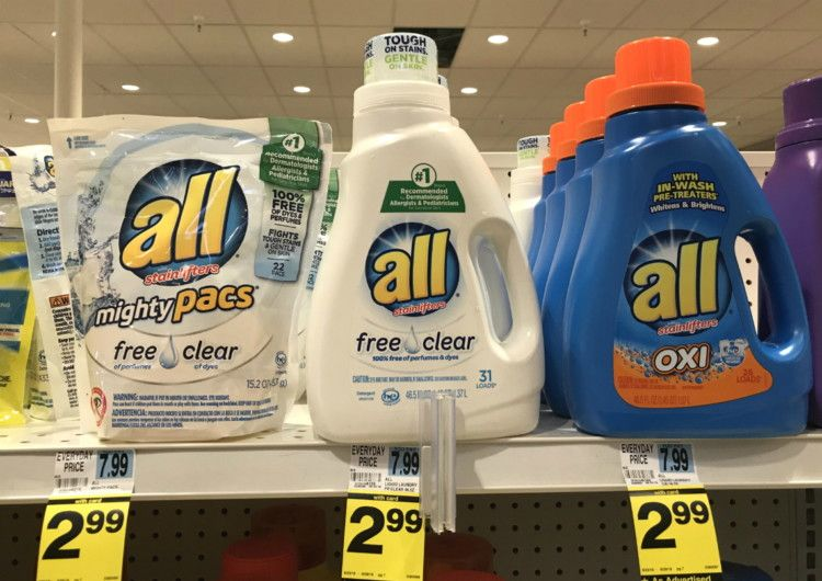 All Laundry Detergent Only 1 99 At Rite Aid Laundry Detergent