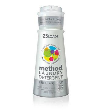 Method Free Clear Liquid Laundry Detergent Pump Laundry Method