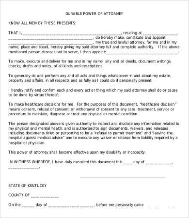 Power Of Attorney Form Free Printable - Power Of Attorney Form Free - release notes template