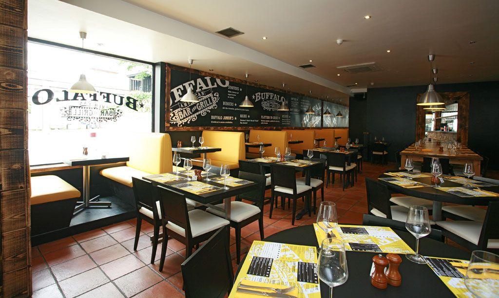 Buffalo bar and grill east croydon interior design by