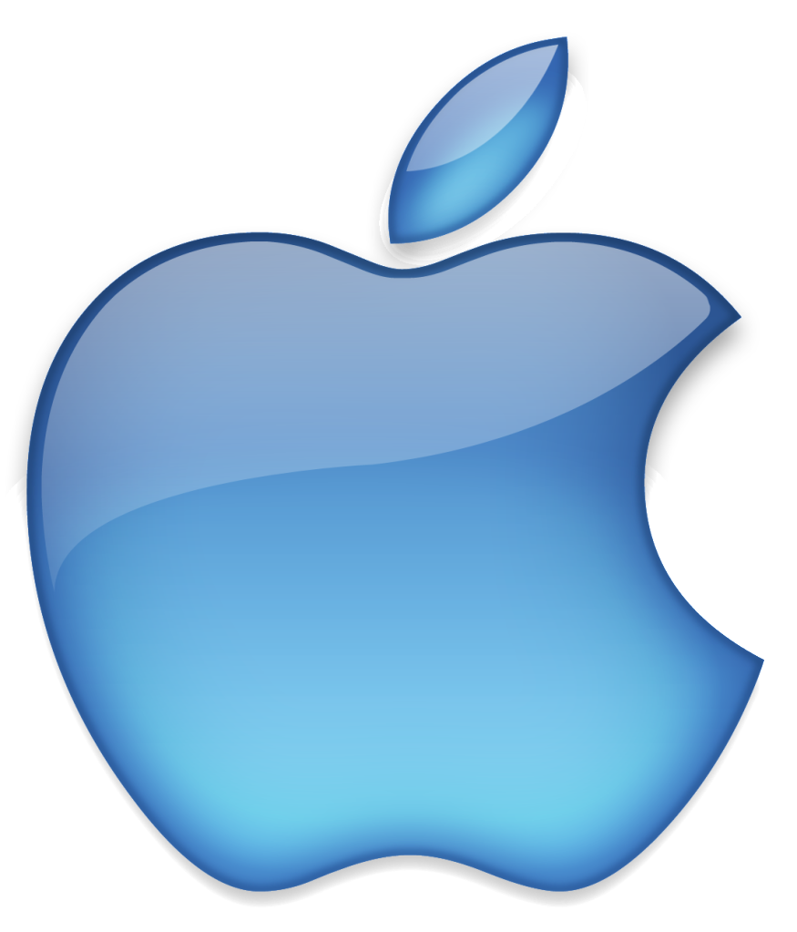 The apple logo is a perfect example of simple design as it