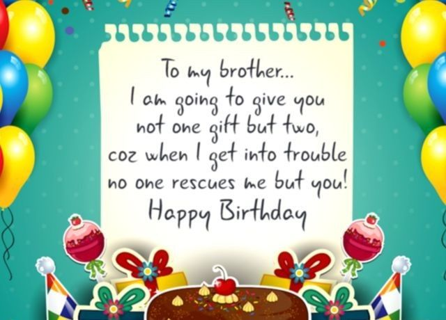 Wishes For Brother Quotes And Messages Happy Birthday Cards