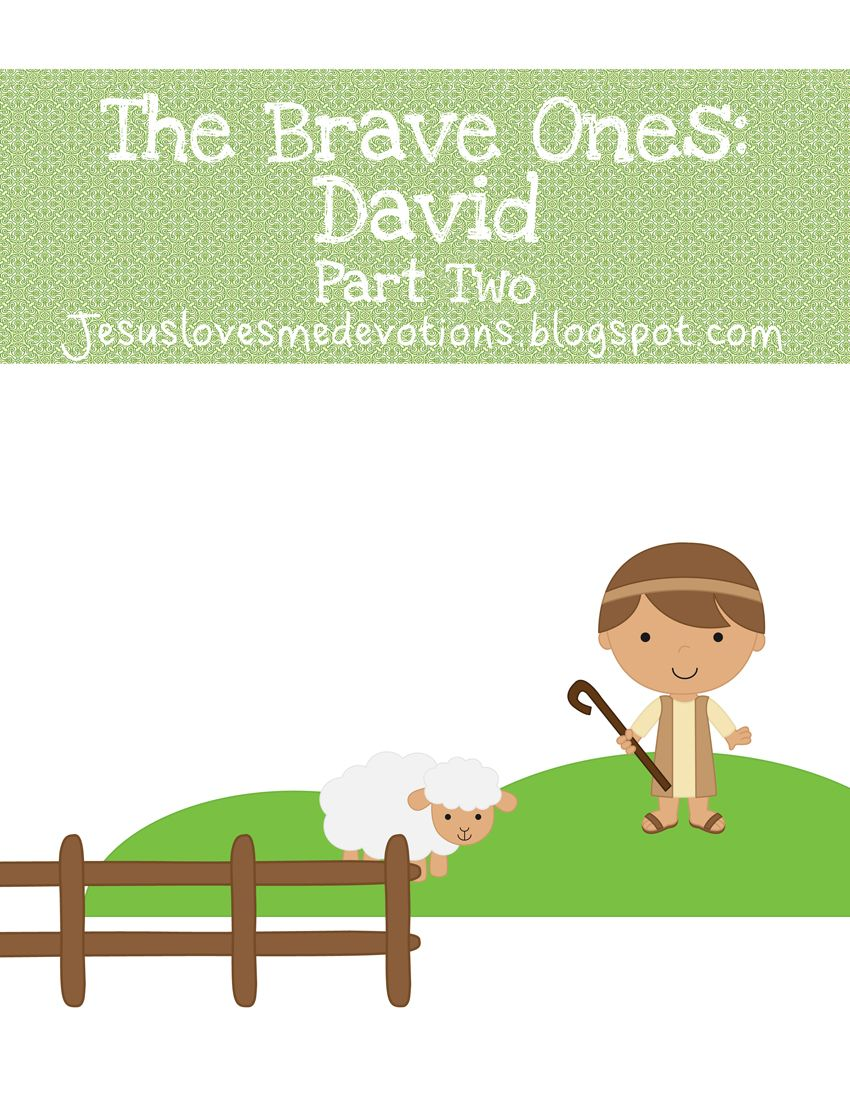Jesus Loves Me | Daily Devotions for Children: The Brave Ones- King ...