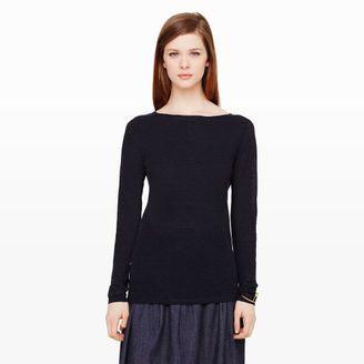 Lana Linen Sweater - Shop for women's Sweater - navy Sweater