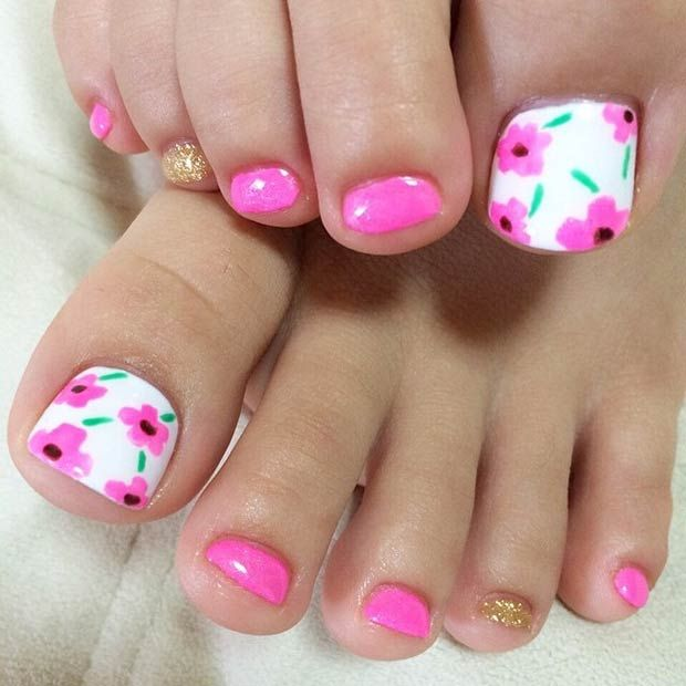 31 Adorable Toe Nail Designs For This Summer Teennagels Nagel En