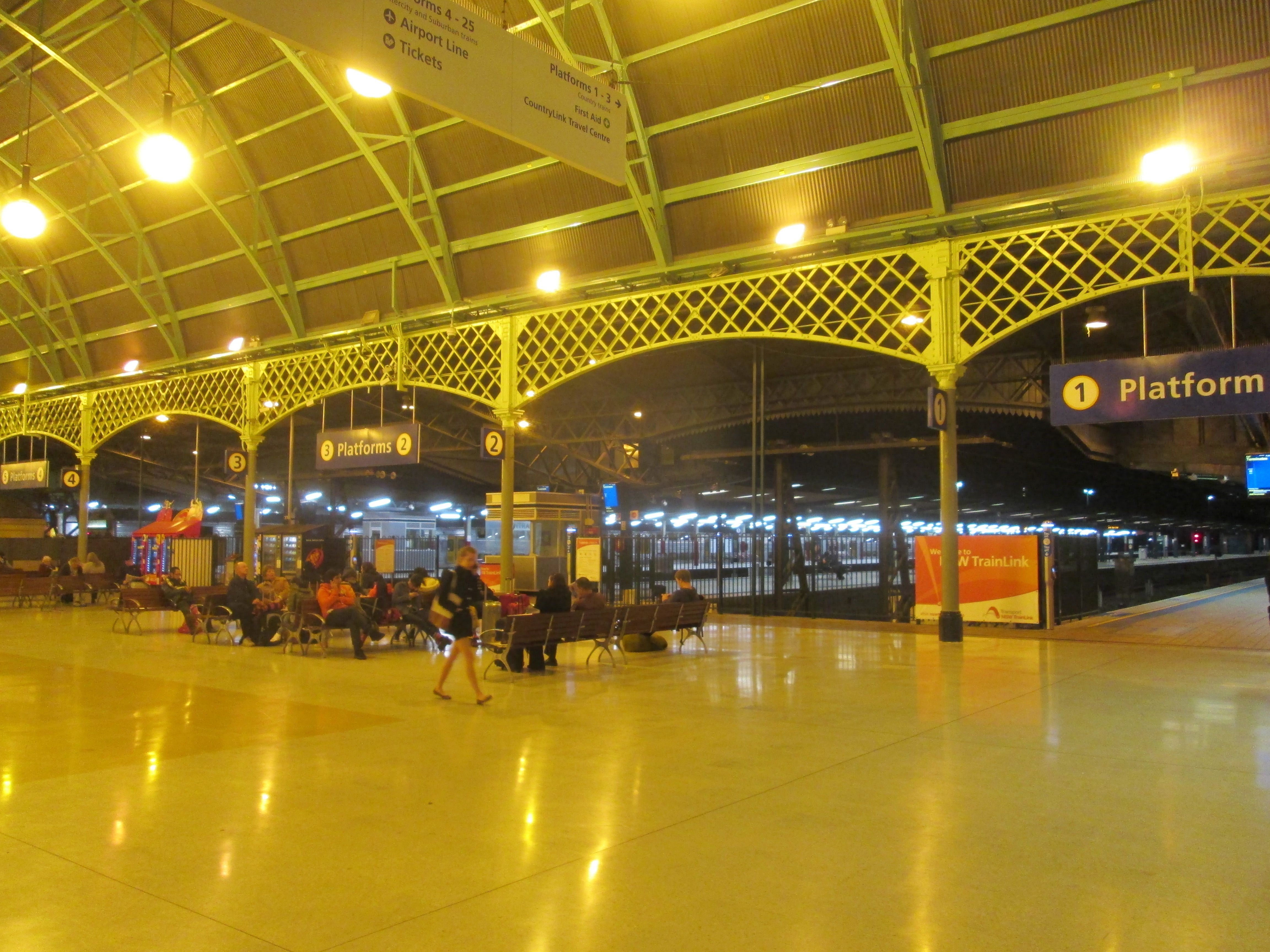 Sydney Central Railway Station Country Services