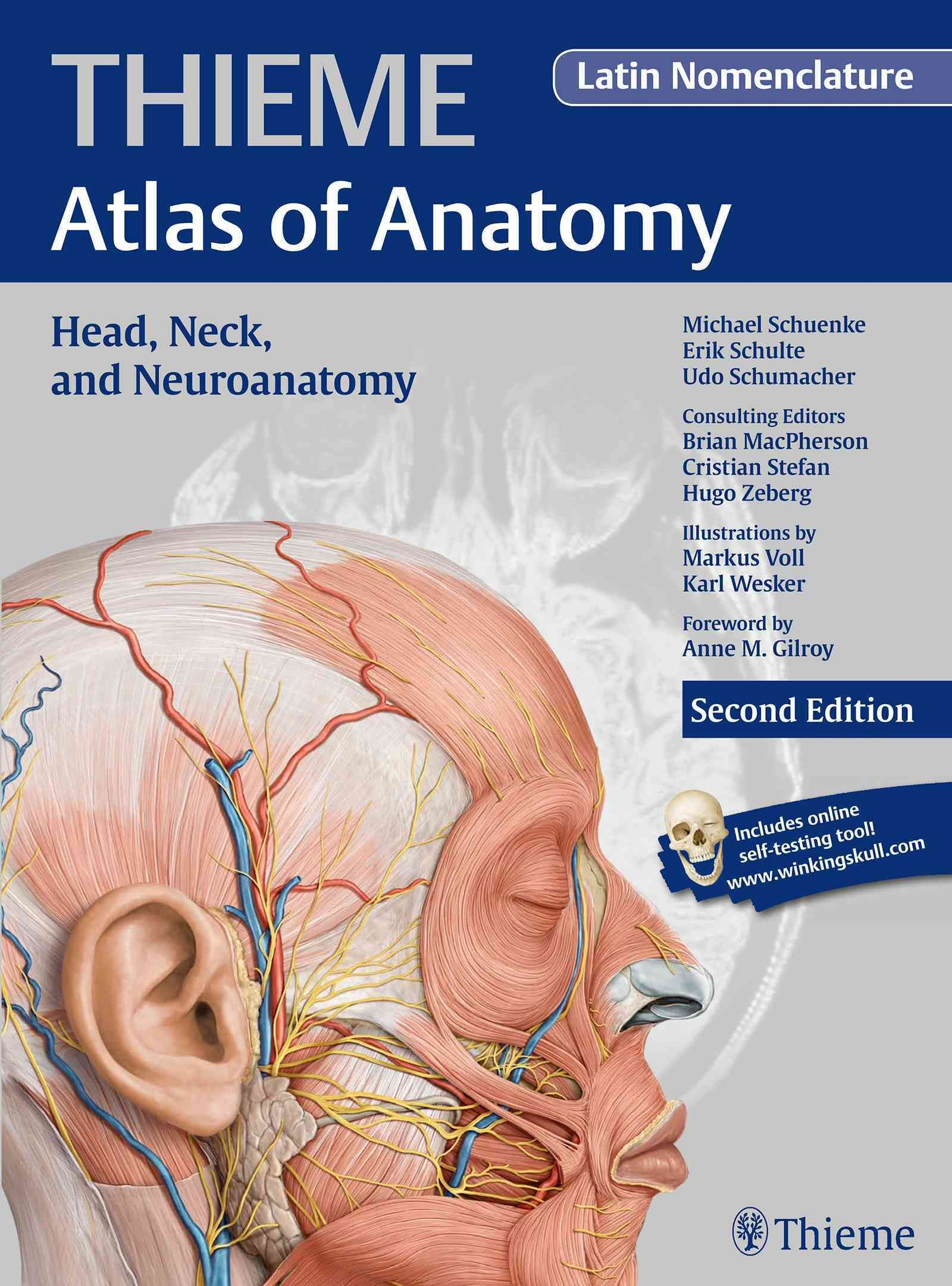 Head Neck And Neuroanatomy Latin Nomenclature Products