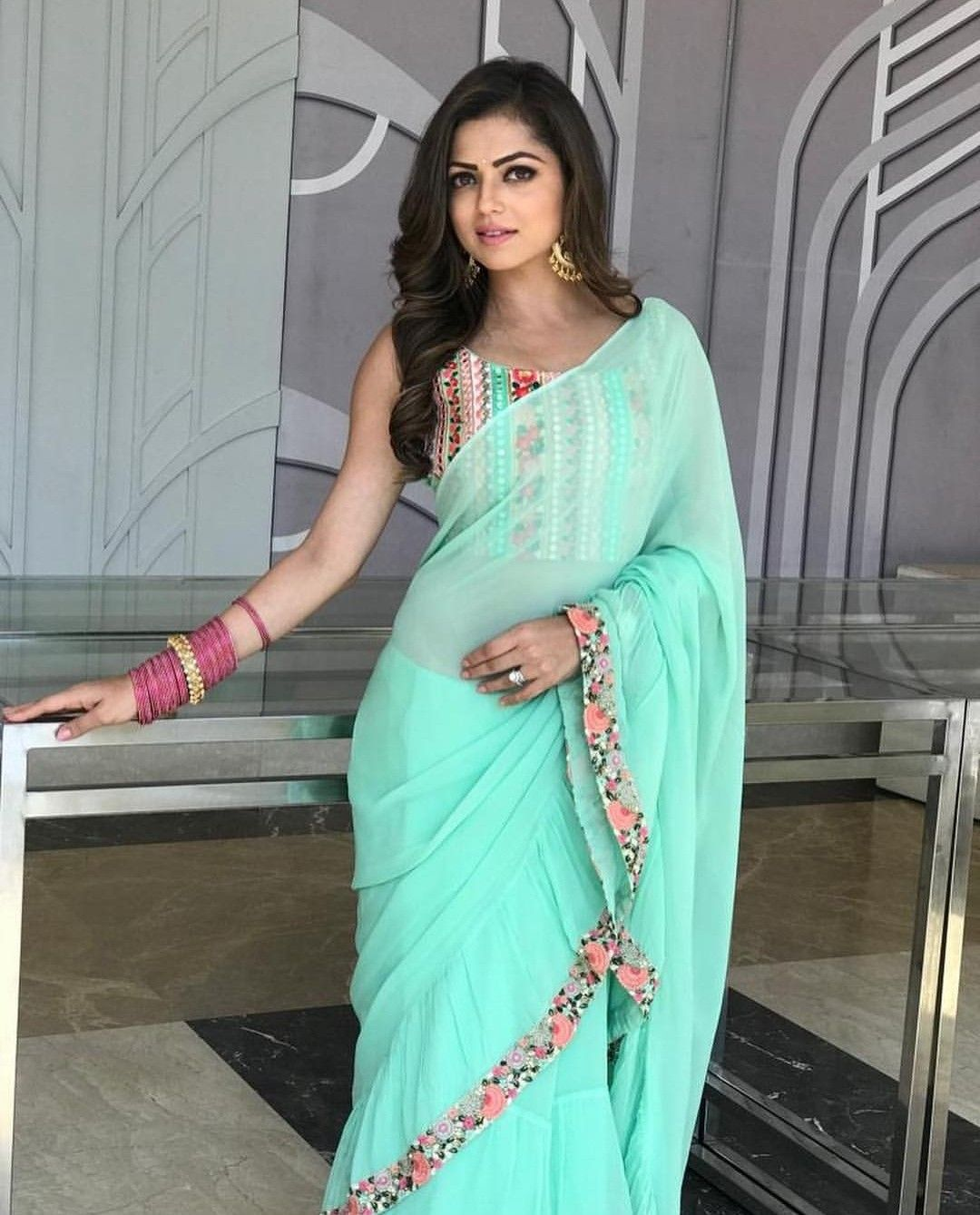 Pin By Ritu Mishra On Tv Actress Pinterest Saree Saree Blouse